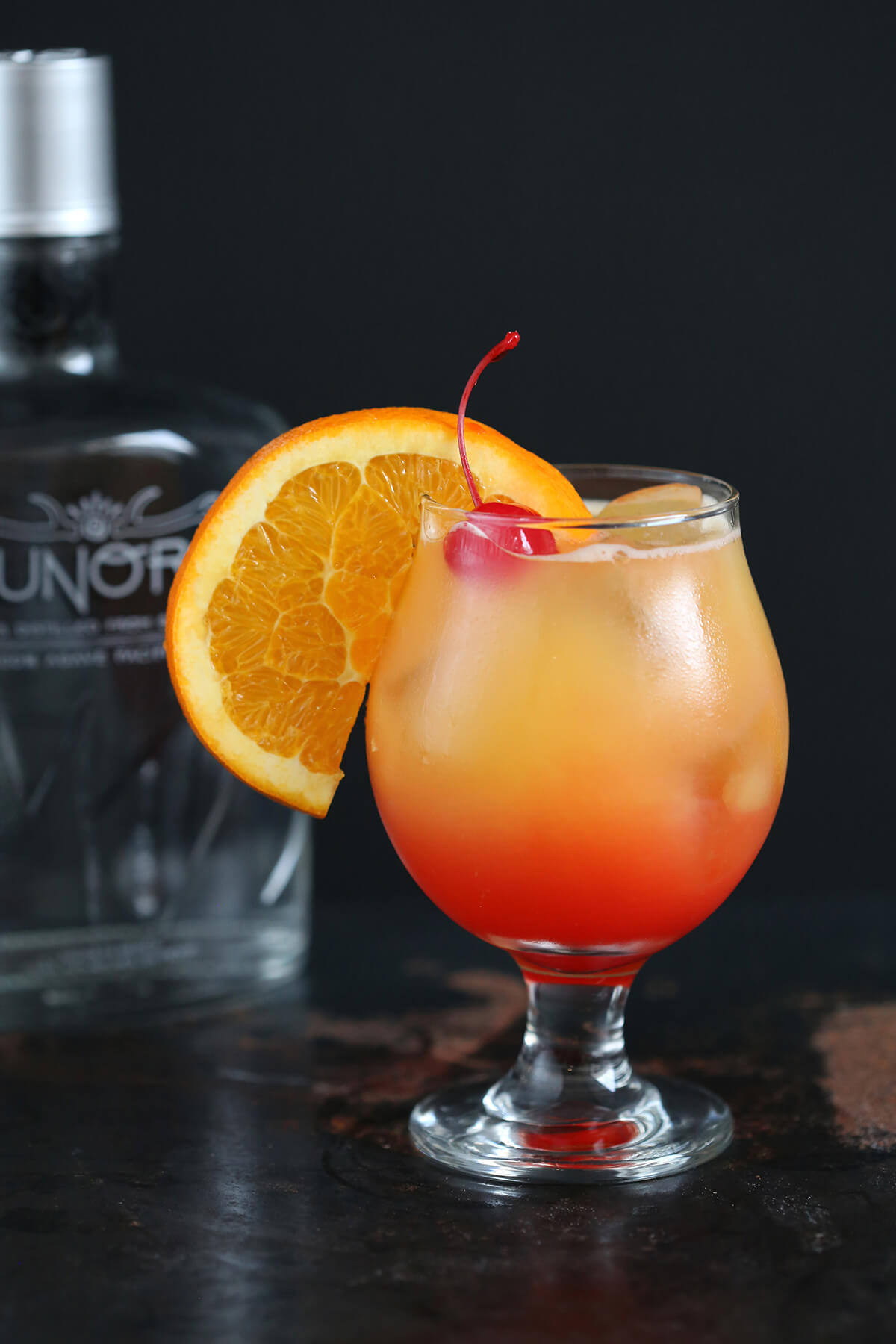 Bacanora Sunrise Cocktail Tequila Sunrise recipe
