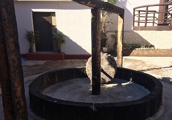 Tahona Grinding Wheel used to make bacanora