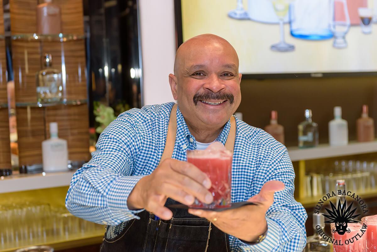 Manny Garcia Old School Bartender