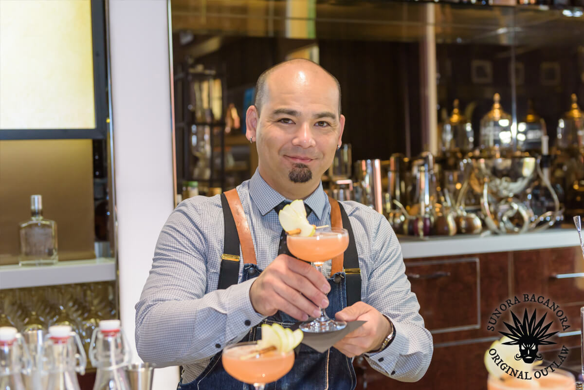 Adam Carroll - Winner of the Sunora Bacanora Mixology Competition 2018