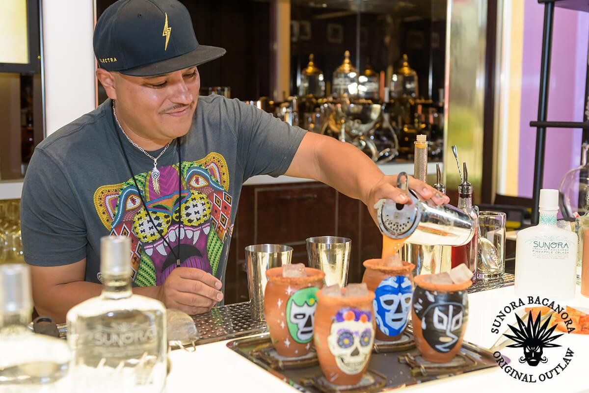 CEsar Cardona Outlaw Bartender