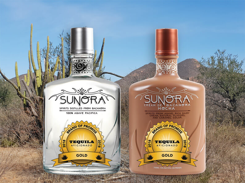 Sunora wins Gold Award from Tequila Aficionado