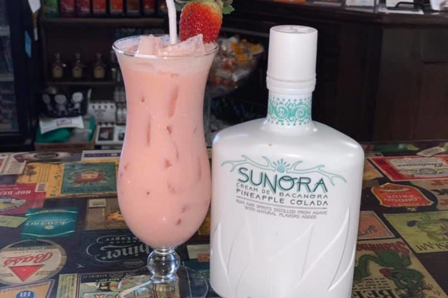 Strawberry Pineapple Colada