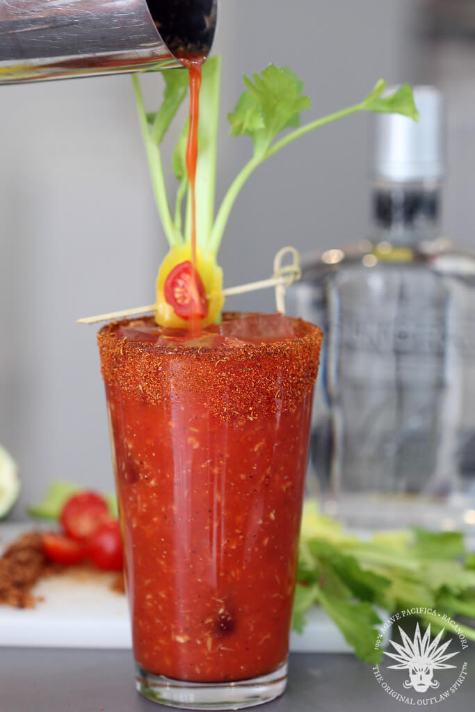 Bloody Bacanora Cocktail Recipe Smoky Bloody Mary