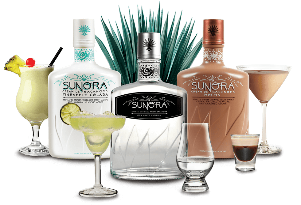 Sunora Group Bottles Shot