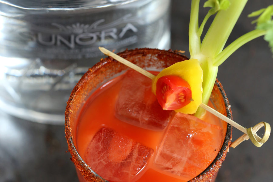 The Bloody Baca Cocktail
