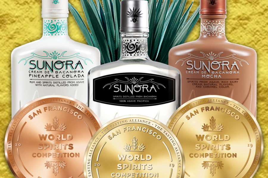 Sunora Bacanora Wins DOUBLE GOLD at The San Francisco World Spirits Competition