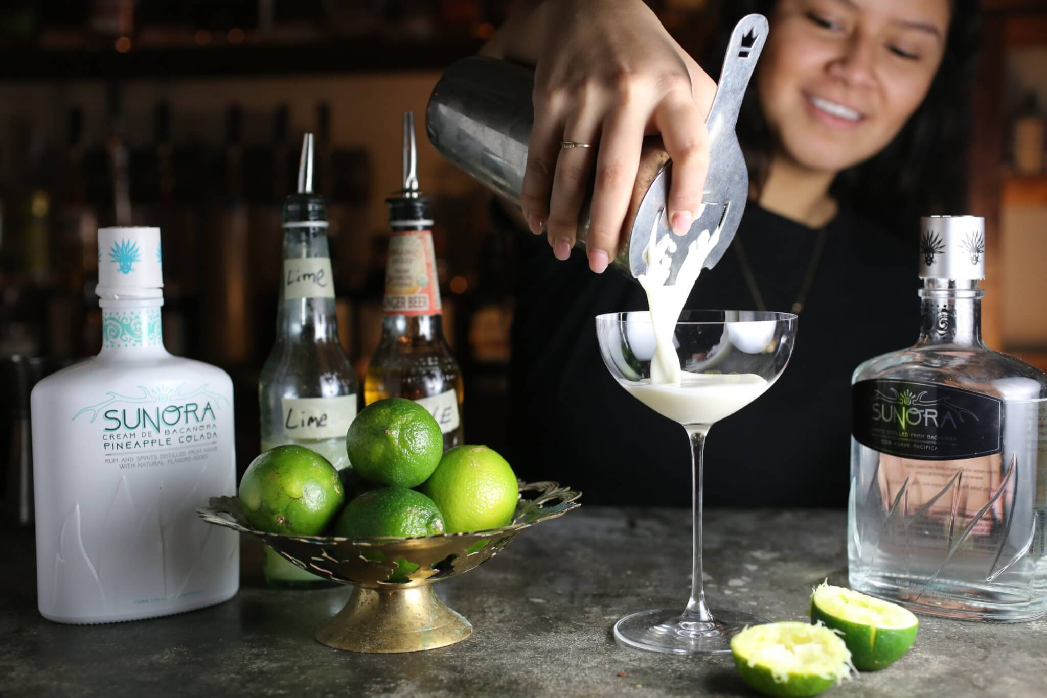 The Key Lime Paradise Cocktail